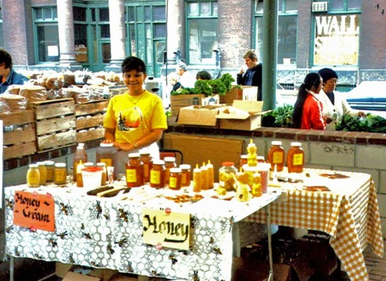 Adillita at Market