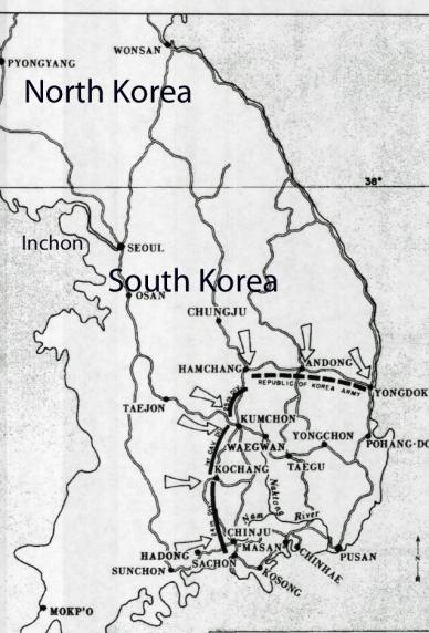 Pusan Map