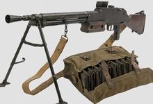 rifles machine gun guns_
