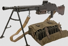 rifles machine gun guns_