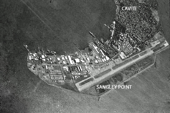 Sangley Point, Black & White
