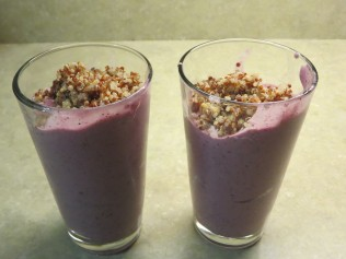 Smoothie servings